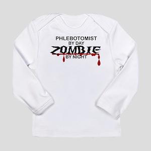 Phlebotomist Zombie Long Sleeve Infant T-Shirt