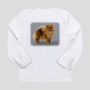 Pomeranian 9R042D-22 Long Sleeve Infant T-Shirt