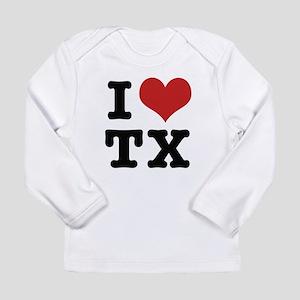 I love texas Long Sleeve T-Shirt