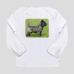 Cairn Terrier 9Y004D-024 Long Sleeve Infant T-Shir
