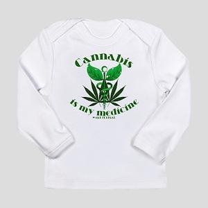 Cannabis is my medicine Long Sleeve T-Shirt