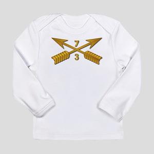 3rd Bn 7th SFG Branch w Long Sleeve Infant T-Shirt