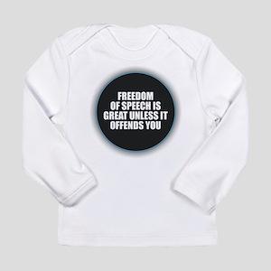 Freedom of Speech Long Sleeve T-Shirt