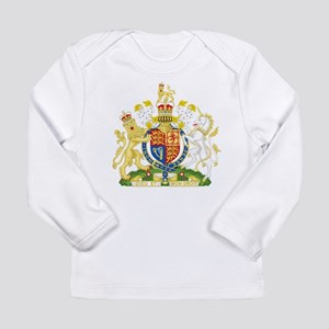 United Kingdom Coat Of Arms Long Sleeve Infant T-S