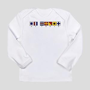 Nautical St. Croix Long Sleeve Infant T-Shirt
