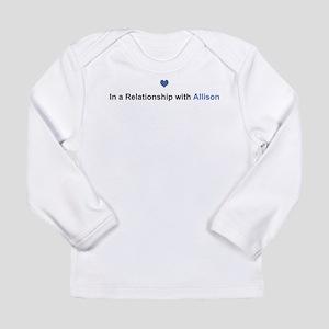 Allison Relationship Long Sleeve Infant T-Shirt