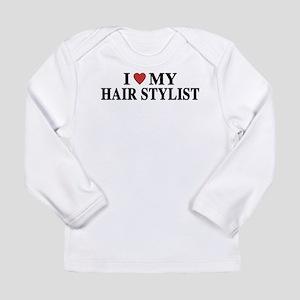 Hair Stylist Long Sleeve Infant T-Shirt