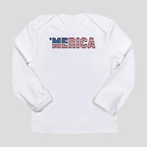'Merica Long Sleeve Infant T-Shirt