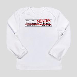 Job Ninja Computer Scientist Long Sleeve Infant T-