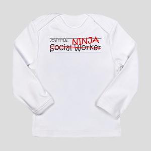 Job Ninja Social Worker Long Sleeve Infant T-Shirt