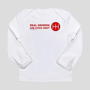 Real Drives Use Stick Shift Long Sleeve T-Shirt