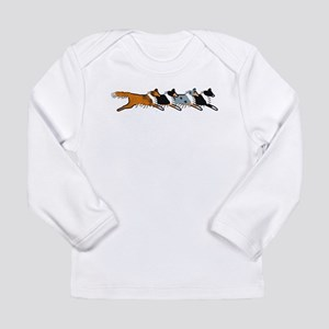 Group O' Shelties Long Sleeve Infant T-Shirt