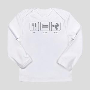 Eat Sleep Motocross Long Sleeve Infant T-Shirt