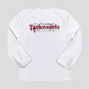 Taekwondo Red Long Sleeve Infant T-Shirt
