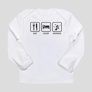 Eat Sleep Skydive Long Sleeve Infant T-Shirt