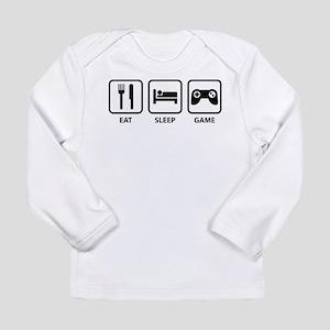 Eat Sleep Game Long Sleeve Infant T-Shirt
