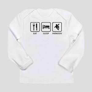 Eat Sleep Parkour Long Sleeve Infant T-Shirt