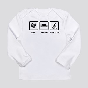 Scooter Riding Long Sleeve Infant T-Shirt