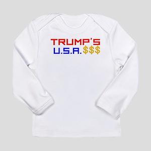 TRUMP'S U.S.A. Long Sleeve T-Shirt