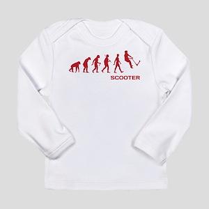 Darwin Ape to man Evolution Push Kick Scooter Long
