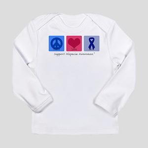 Peace Love Alopecia Long Sleeve Infant T-Shirt