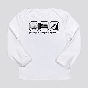 Eat Sleep Crawl Long Sleeve Infant T-Shirt