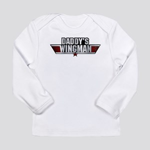 Daddy's Wingman Long Sleeve Infant T-Shirt