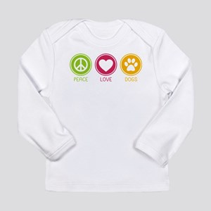 Peace - Love - Dogs 1 Long Sleeve Infant T-Shirt
