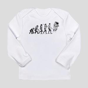 Astronaut Evolution Long Sleeve Infant T-Shirt
