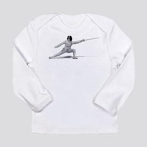 Fencing Long Sleeve Infant T-Shirt