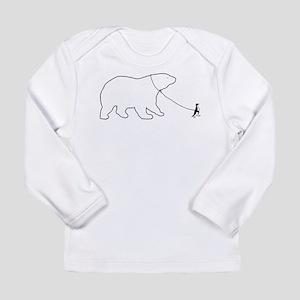 Penguin and Polar Bear Long Sleeve T-Shirt