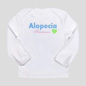 Alopecia Awareness Long Sleeve Infant T-Shirt