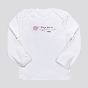 """""""Fun and Games"""" Long Sleeve Infant T-Shirt"""