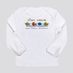 Fish Creek, Wisconsin Long Sleeve T-Shirt