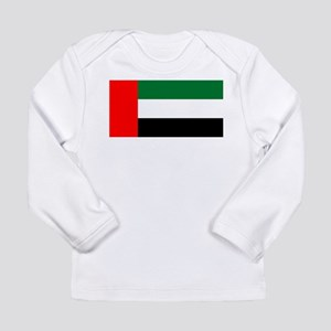 United Arab Emirates Flag Long Sleeve Infant T-Shi