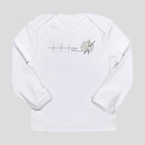 A Knitting Heart Long Sleeve T-Shirt