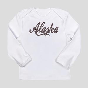 Vintage Alaska Long Sleeve Infant T-Shirt