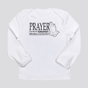 """Prayer"" Long Sleeve Infant T-Shirt"