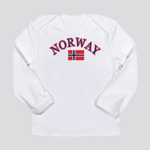 Norway Soccer Designs Long Sleeve Infant T-Shirt
