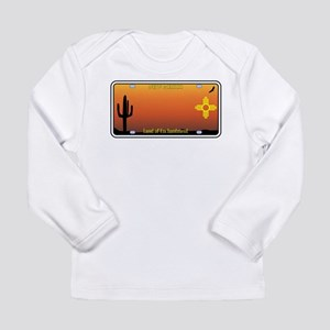 New Mexico License Plate Long Sleeve T-Shirt