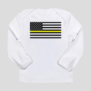 U.S. Flag: Black Flag & Long Sleeve Infant T-Shirt