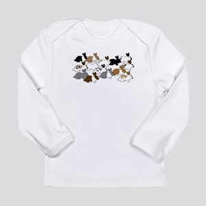 Many Bunnies Long Sleeve Infant T-Shirt