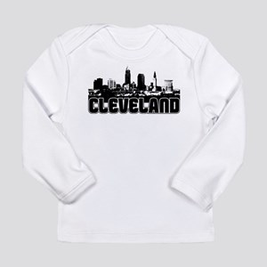 Cleveland Skyline Long Sleeve T-Shirt