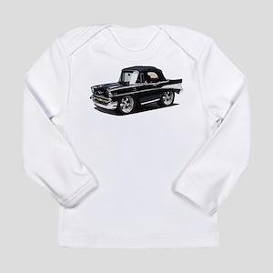 BabyAmericanMuscleCar_57BelR_Black Long Sleeve T-S