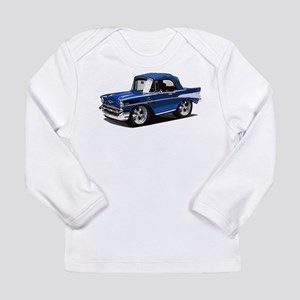 BabyAmericanMuscleCar_57BelR_Blue Long Sleeve T-Sh