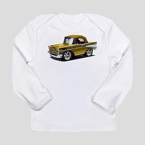 BabyAmericanMuscleCar_57BelR_Gold Long Sleeve T-Sh