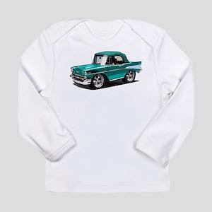 BabyAmericanMuscleCar_57BelR_Green Long Sleeve T-S