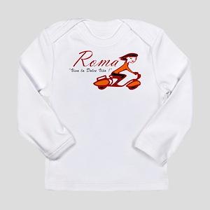 ROME SCOTTER GIRL Long Sleeve T-Shirt