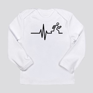 Runner frequency Long Sleeve Infant T-Shirt