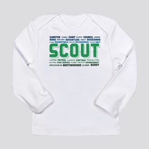 Scout Word Cloud Long Sleeve Infant T-Shirt